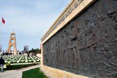 Τουρκικό πολεμικό νεκροταφείο, Gelibolu/Gallipoli, Τουρκία Στοκ Φωτογραφία