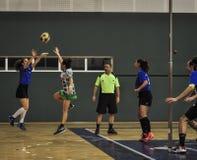 Τουρκικό πρωτάθλημα Korfball Στοκ Φωτογραφίες