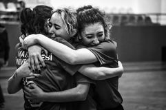 Τουρκικό πρωτάθλημα Korfball Στοκ φωτογραφίες με δικαίωμα ελεύθερης χρήσης
