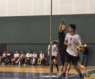 Τουρκικό πρωτάθλημα Korfball Στοκ φωτογραφία με δικαίωμα ελεύθερης χρήσης