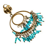 Τουρκικό σκουλαρίκι Στοκ Εικόνες