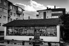 Τουρκικό σπίτι τσαγιού από την εποχή Στοκ Εικόνες