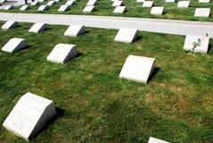 Τουρκικό στρατιωτικό νεκροταφείο Στοκ Εικόνες