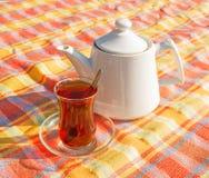 Τουρκικό τσάι 1 στοκ φωτογραφία