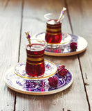 Τουρκικό τσάι Στοκ φωτογραφία με δικαίωμα ελεύθερης χρήσης