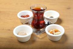 Τουρκικό τσάι Στοκ Φωτογραφίες