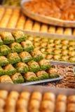 Τουρκικό baklava επιδορπίων στοκ εικόνες