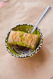 Τουρκικό baklava Στοκ Φωτογραφία