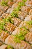 Τουρκικό baklava Στοκ Εικόνες