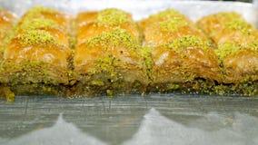 Τουρκικό baklava Στοκ Εικόνα