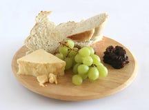τουρσί σταφυλιών τυριών ψ&ome στοκ εικόνες