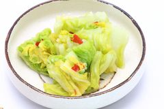 Τουρσιά κινεζικών λάχανων Στοκ Φωτογραφία