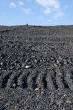 του άνθρακα απόβλητα σωρώ&nu Στοκ Φωτογραφίες