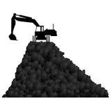 Του άνθρακα τεχνική ελεύθερη απεικόνιση δικαιώματος