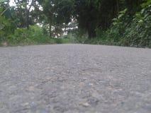 Του ένας δρόμος Του χωριού οδός στοκ εικόνα με δικαίωμα ελεύθερης χρήσης