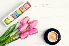 Τουλίπες καφέ και λουλουδιών στοκ φωτογραφία με δικαίωμα ελεύθερης χρήσης