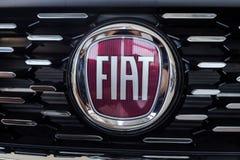 01 του Αυγούστου του 2017 - Vinnitsa, Ουκρανία - το λογότυπο της FIA εμπορικών σημάτων Στοκ Φωτογραφίες