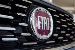01 του Αυγούστου του 2017 - Vinnitsa, Ουκρανία - το λογότυπο της FIA εμπορικών σημάτων Στοκ Εικόνα