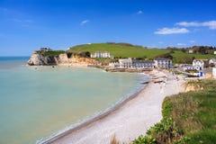 Του γλυκού νερού κόλπος Isle of Wight Αγγλία στοκ εικόνες