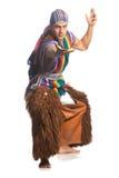 Του Εκουαδόρ εθνικό κοστούμι στοκ εικόνα