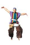 Του Εκουαδόρ εθνικό κοστούμι στοκ φωτογραφία