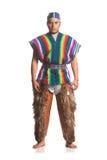 Του Εκουαδόρ εθνικό κοστούμι στοκ εικόνες