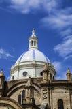 Του Εκουαδόρ καθεδρικός ναός Cuenca Στοκ εικόνα με δικαίωμα ελεύθερης χρήσης