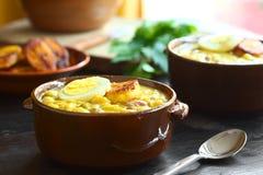 Του Εκουαδόρ σούπα Fanesca Στοκ Φωτογραφίες