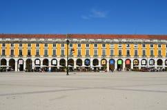 του 2010 27$η εμπορίου Λισσαβώνα πλατεία της Πορτογαλίας φωτογραφιών Ιουνίου που λαμβάνεται Στοκ εικόνα με δικαίωμα ελεύθερης χρήσης