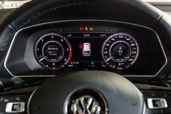 19 του Ιανουαρίου του 2018 - Vinnitsa, Ουκρανία Volkswagen Tiguan pres Στοκ φωτογραφία με δικαίωμα ελεύθερης χρήσης