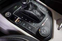 19 του Ιανουαρίου του 2018 - Vinnitsa, Ουκρανία Volkswagen Tiguan pres Στοκ Εικόνα