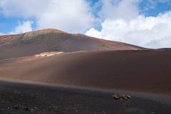 του 2011 κανάριο νησιών Lanzarote timanfaya πάρκων Ιουνίου εθνικό Στοκ εικόνα με δικαίωμα ελεύθερης χρήσης