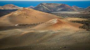 του 2011 κανάριο νησιών Lanzarote timanfaya πάρκων Ιουνίου εθνικό Στοκ Φωτογραφίες