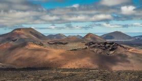 του 2011 κανάριο νησιών Lanzarote timanfaya πάρκων Ιουνίου εθνικό Στοκ φωτογραφία με δικαίωμα ελεύθερης χρήσης