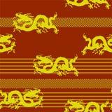 του 2012 καρτών νέο διανυσματικό έτος απεικόνισης δράκων χρυσό ελεύθερη απεικόνιση δικαιώματος