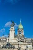 Του Κογκρέσου Plaza στο Μπουένος Άιρες, Αργεντινή Στοκ φωτογραφία με δικαίωμα ελεύθερης χρήσης