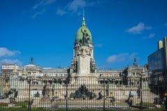Του Κογκρέσου Plaza στο Μπουένος Άιρες, Αργεντινή Στοκ φωτογραφίες με δικαίωμα ελεύθερης χρήσης