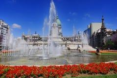 Του Κογκρέσου Plaza Στοκ φωτογραφία με δικαίωμα ελεύθερης χρήσης