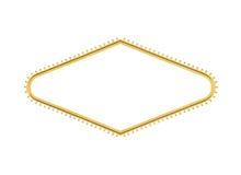 Του Λας Βέγκας σημαδιών που αποκόβεται διαμάντι λαμπών φωτός ευπρόσδεκτων Στοκ φωτογραφία με δικαίωμα ελεύθερης χρήσης