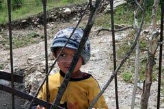 Του Ουζμπεκιστάν αγόρι σε Arslanbob, Κιργιστάν Στοκ φωτογραφίες με δικαίωμα ελεύθερης χρήσης