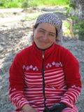 Του Ουζμπεκιστάν γυναίκα Στοκ Φωτογραφία