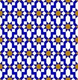 Του Ουζμπεκιστάν σχέδιο Αραβική άνευ ραφής διακόσμηση ελεύθερη απεικόνιση δικαιώματος