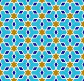 Του Ουζμπεκιστάν σχέδιο Αραβική άνευ ραφής διακόσμηση απεικόνιση αποθεμάτων