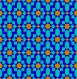 Του Ουζμπεκιστάν σχέδιο Αραβική άνευ ραφής διακόσμηση διανυσματική απεικόνιση
