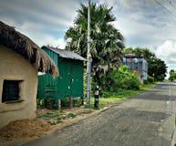 Του χωριού άποψη στοκ εικόνα