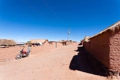 Του χωριού άποψη Cerrillos, Βολιβία Στοκ εικόνες με δικαίωμα ελεύθερης χρήσης
