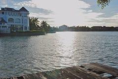 Του χωριού λίμνη Στοκ Εικόνα