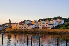 Του χωριού ανατολή Swanage στο Dorset Στοκ φωτογραφίες με δικαίωμα ελεύθερης χρήσης