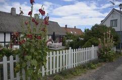 Του χωριού ατμόσφαιρα σε Kivik, Σουηδία Στοκ φωτογραφία με δικαίωμα ελεύθερης χρήσης