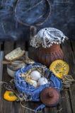 Του χωριού αυγά, αγροκτήματα, οργανικά προϊόντα στοκ εικόνα με δικαίωμα ελεύθερης χρήσης